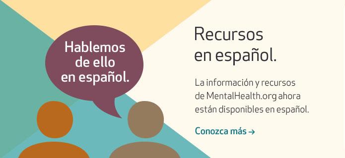 Recursos de salud mental ahora disponibles en español